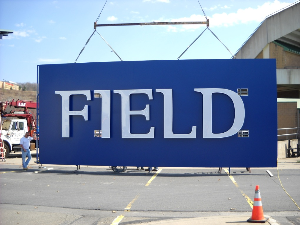 PNC Bank Field SIgn