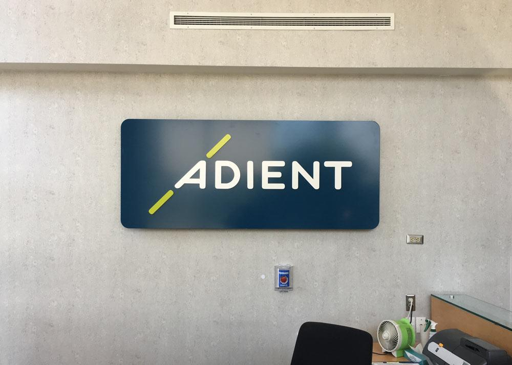 tisa-client-adient-gallery-small-reception-sign-plymouth-mi-tisa