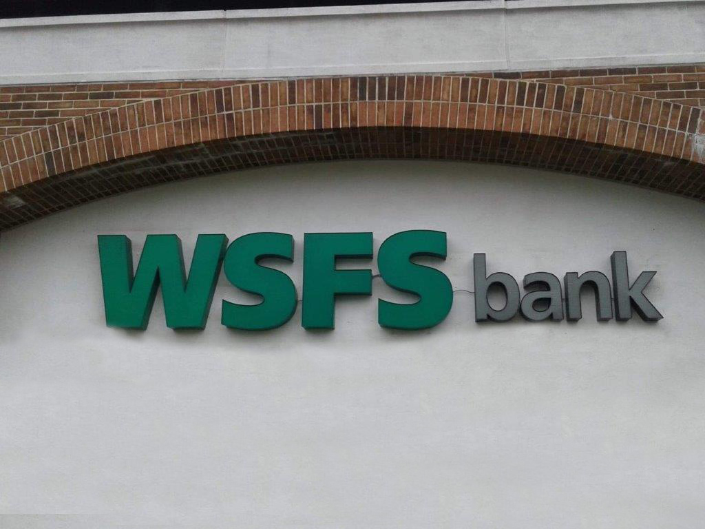 WSFS Exterior Channel Letters