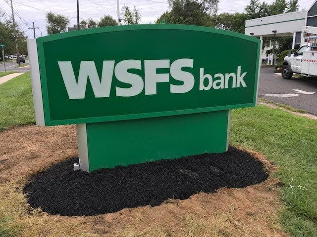 WSFS Monument Sign