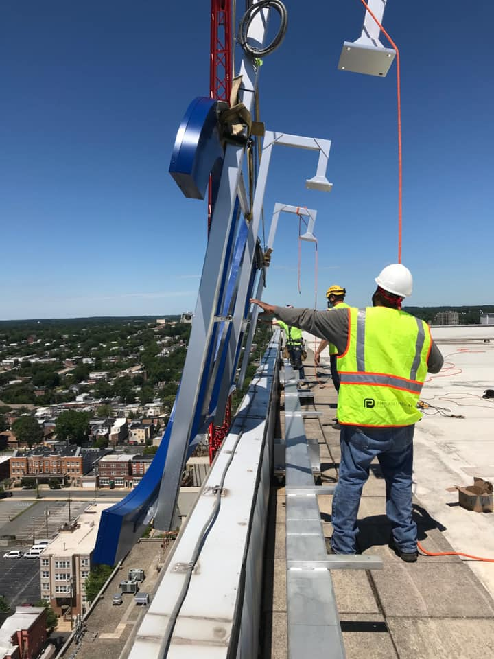PNC Bank HIghrise Install PSCO Install Crew